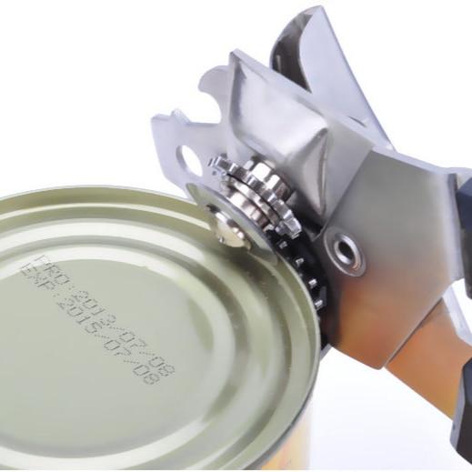 Abrebotellas de acero inoxidable para el hogar, abrelatas portátil Simple y moderno,...