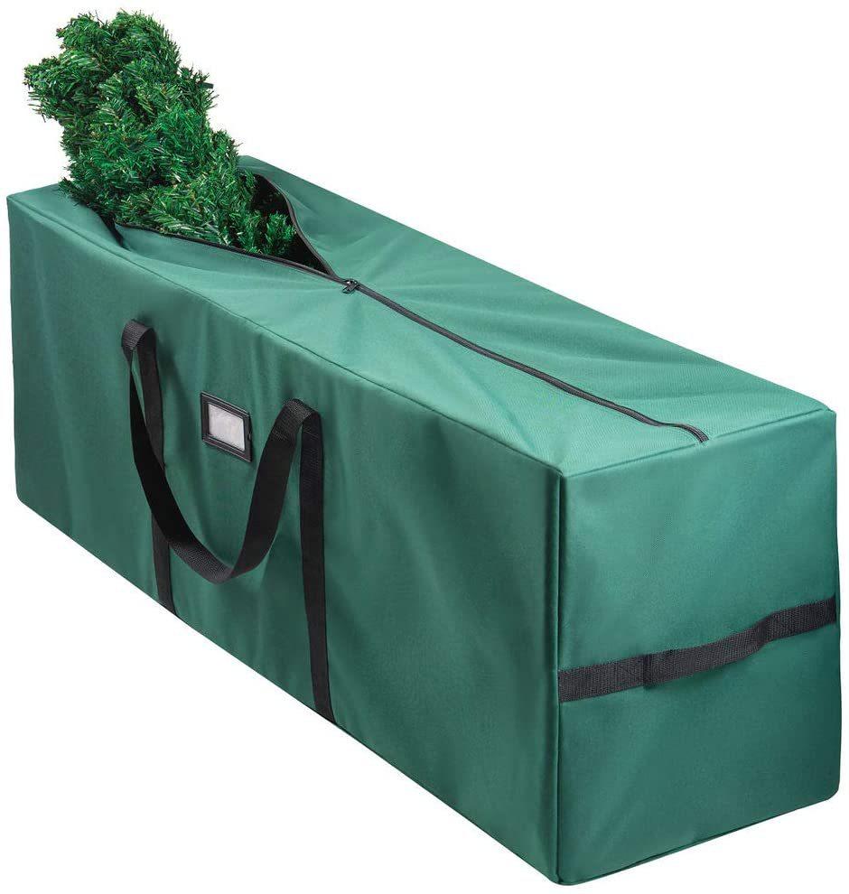 شجرة عيد الميلاد حقيبة التخزين شجرة عيد الميلاد حقيبة التخزين مقاوم للماء والرطوبة الأخضر حقيبة أكسفورد حقيبة التخزين مستودع