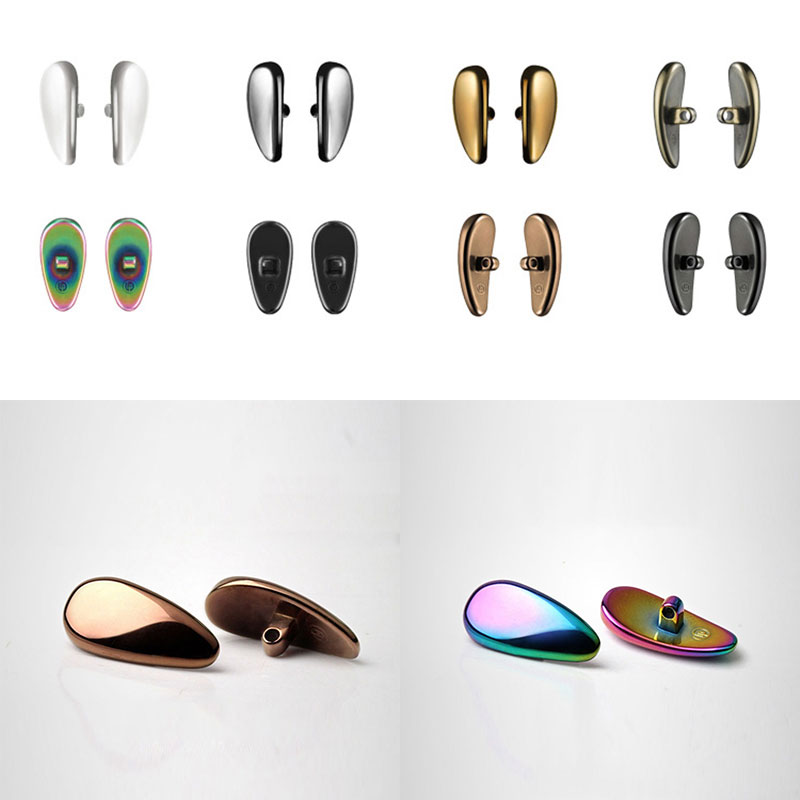 New Nanoceramic Nose Pads For Glasses Anti-Slip Nose Pads Soft Eye Care Tools For Eyeglasses