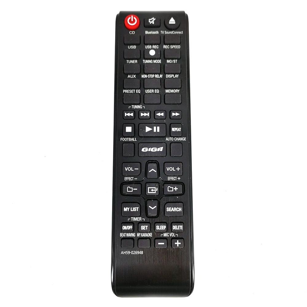 New Original AH59-02694B For Samsung Home Audio Remote Control MX-J630 MX-JS5000 MX-JS5000/ZA Fernbedienung