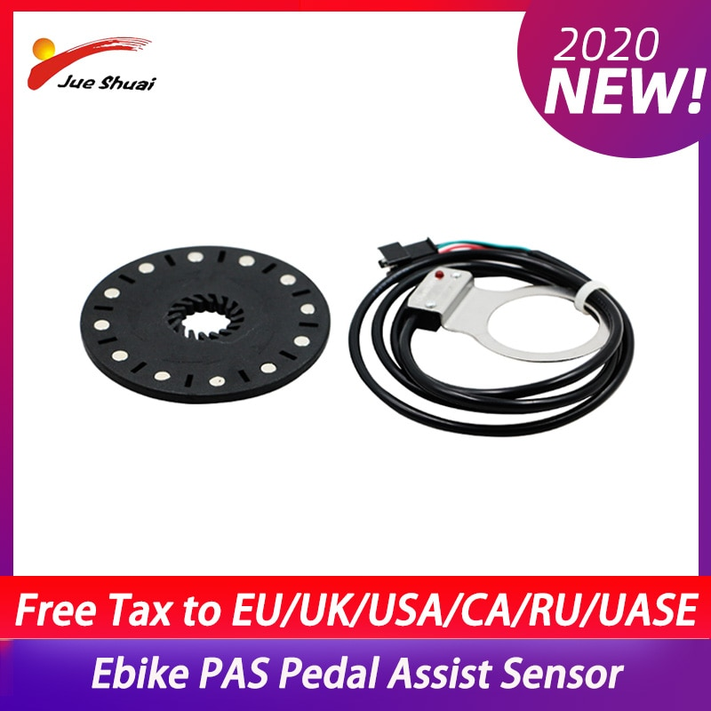 Sistema de Sensor de asistencia de Pedal PAS, Sensor de velocidad de bicicleta eléctrica, Sensor de Asistente de conversión de bicicleta eléctrica, accesorios para bicicleta eléctrica