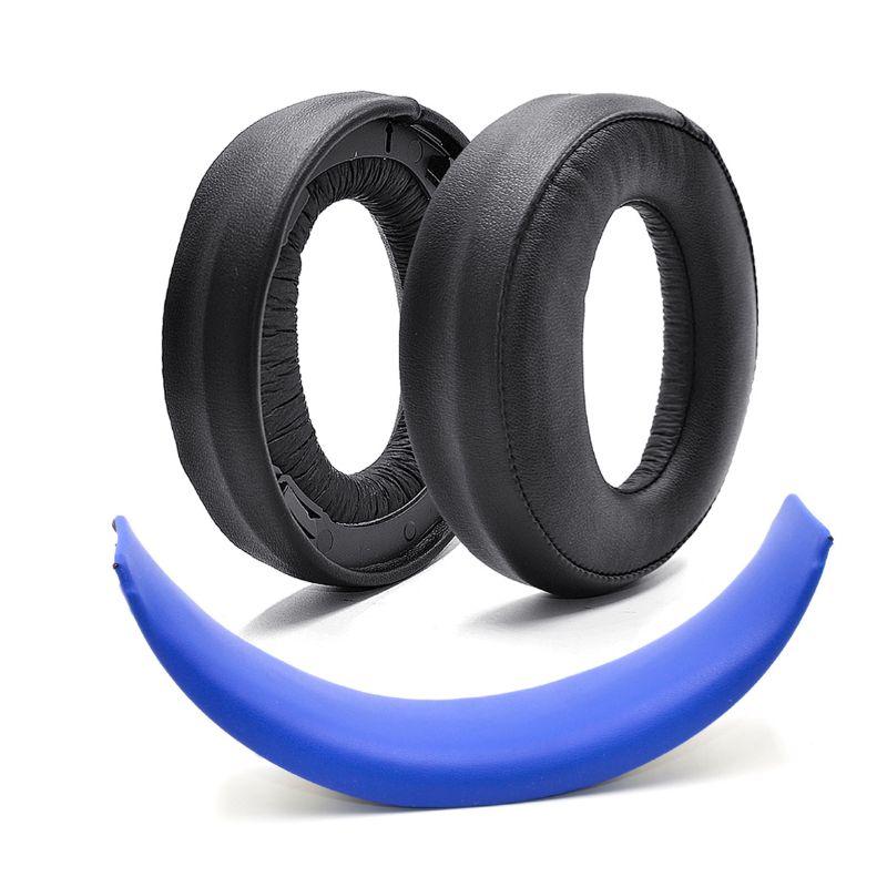 Черные амбушюры, подушечки для ушей для S-ONY, золотые беспроводные PS4 7,1 CECHYA-0083, виртуальная объемная гарнитура