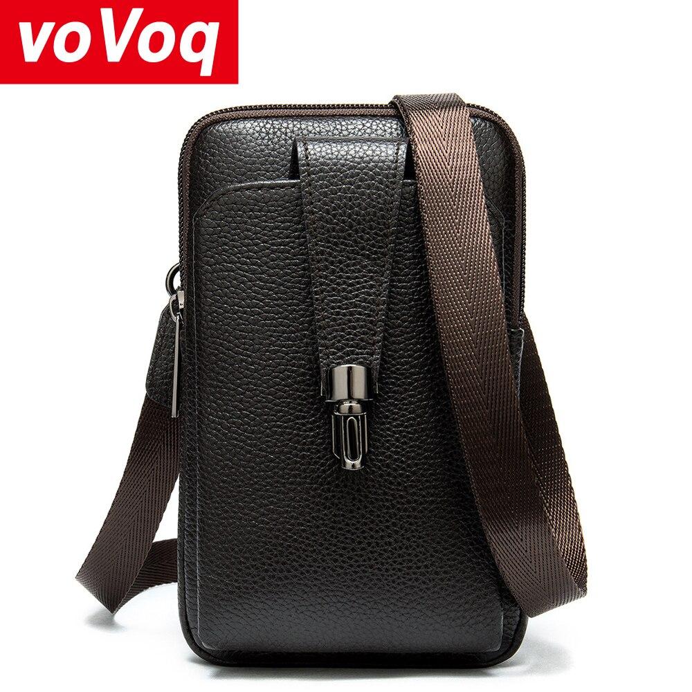 Bolso de hombro Retro para hombre 2020, bolsa de hombre informal para teléfono móvil de 6,5 pulgadas, mochila, bolsa de viaje, modelos de bolos