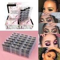 1050100pairs false mink lashes wholesale eyelashes set natural wispy fluffy in bulk faux lash vendors fake eyelashes 3d makeup