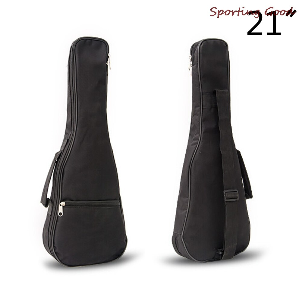 21 Inch New Ukulele Waterproof Guitar Cover Gig Bag Soft Case Light Gear Black Color