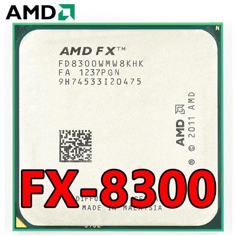 Procesador de CPU de ocho núcleos, paquete de procesador AMD de 3,3...