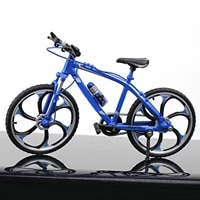 mini 110 alloy bicycle model diecast metal mountain bike simulation collection toys decor for children collectors f2