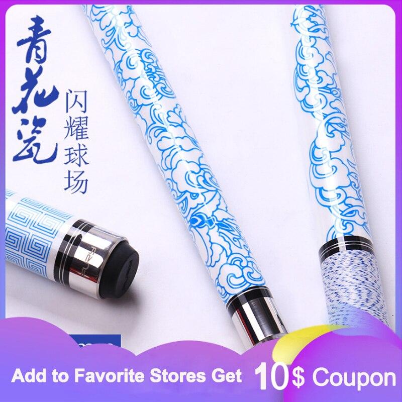 Queue de fureur bleu bleu 11.75mm 12.75mm pointe lin Wrap avec étui chine
