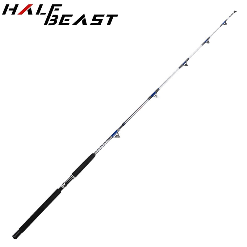 Japan Fishing Tackle 1.98m 2.1M Heavy Boat Lure Rods Anchor Sea Fish Pole Hard Carbon Fiber Pesca Offshore Angling Jigging Rod enlarge