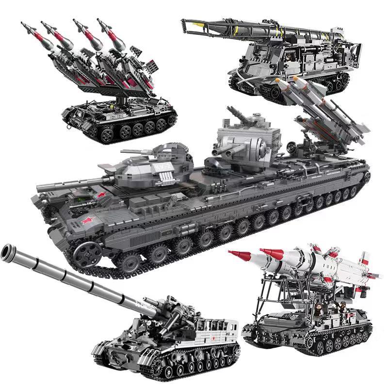 XINGBAO creativo Lepining WW2 militar serie la guerra Set de tanques modelo juguetes educativos para los niños de bloques de construcción ladrillos regalos
