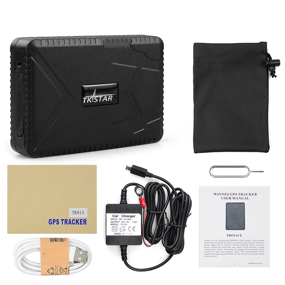 Original TKSTAR TK915 TK905 GPS Tracker Waterproof  Auto Magnet Voice Monitor Car 90 Days Standby GPS Locator Free Web APP