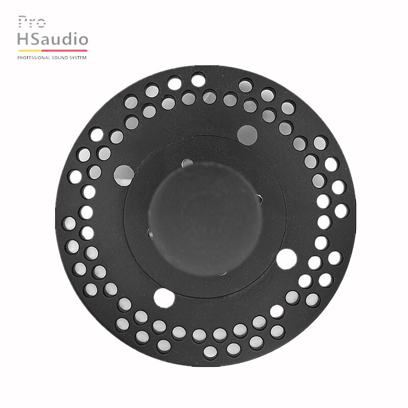 ProHSaudio(4PCS/Lot )HS7201 Audio Accessories Metal Aluminum Base ∅150 x 93 MM  Audio System With Speaker Hardware Parts Top Hat enlarge