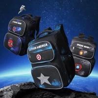 2021 disney marvel new school bags for boys primary student shoulder backpack spider iron man captain america grade 1 5 mochilas