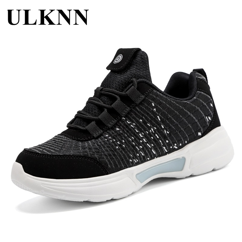 ULKNN-أحذية رياضية للأطفال ، أحذية كاجوال مسامية ، أحذية رياضية للطلاب ، موسم الخريف والشتاء ، 2020