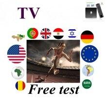Na całym świecie IPTV niderlandzkiego UHD FHD 4K holandia szwedzki Nordic polska dla dorosłych, inteligentnym telewizorem dla TV, pudełko tylko żadne kanały wliczony w cenę