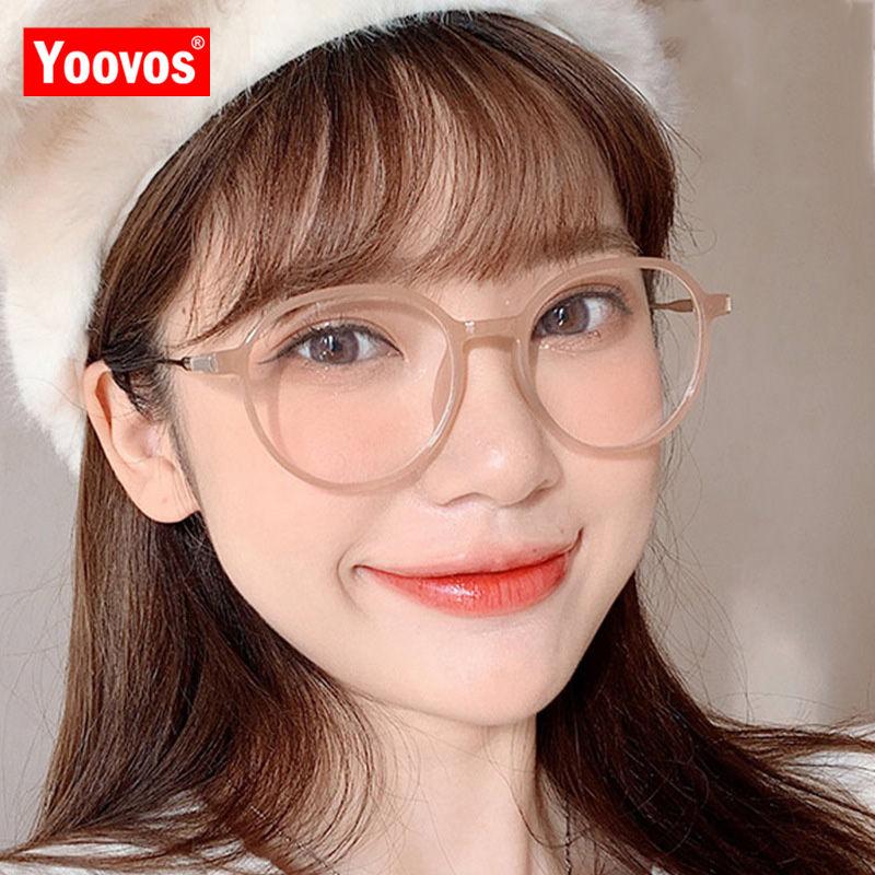 Yoovos  Anti-blue Light Sunglasses Women 2021 Classic Vintage Women Sunglasses Luxury PolygonFashion