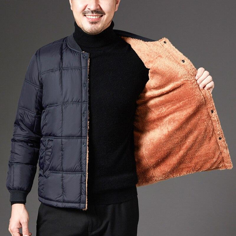 Мужской пуховой жилет ZOGAA, бархатный жилет из плотного хлопка, теплый жилет большого размера на осень и зиму