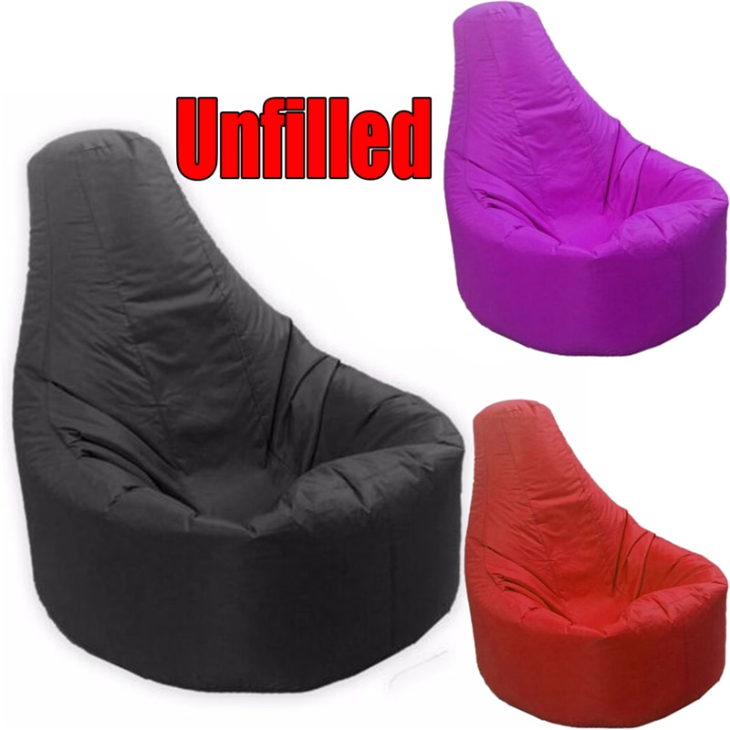 1 PCS Lazy Sofas Cover Bean Bag Sofas Chairs Without Filler Lounger Seat Pouf Puff Couch Tatami Living Room Bedroom Chair