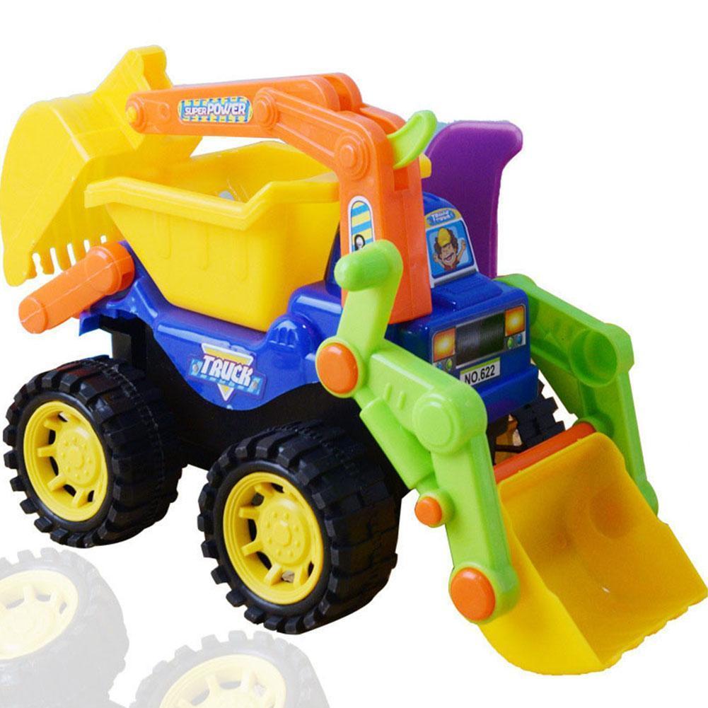 Машинки строительные детские пляжные инженерные, игрушечный грузовик, экскаватор, бык, летние морские песочные лопаты, почва, водные игрушк...