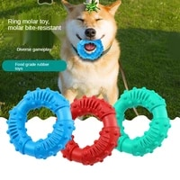 pet toy dog toy ring dog chewing toy dog chewing gum teeth cleaning rubber toy puppy pet toys puppy chew toy