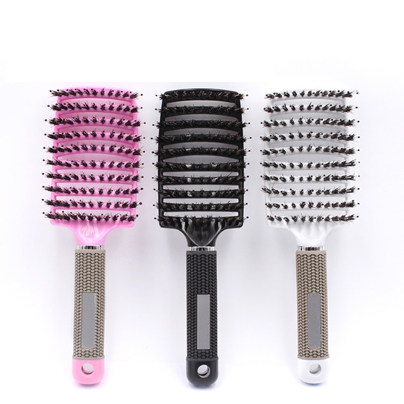 Brosses à cheveux magiques démêlantes pour femmes, peigne pour Massage, poux, accessoire de Salon de coiffure, 2020