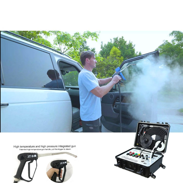 Wholesale Professional Industrial Portable High Pressure Car Washer Steam Cleaner Machine