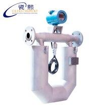 Medidor de fluxo maciço hidráulico líquido de coriolis de digitas inteligentes dos medidores de fluxo maciço de coriolis de dn3 para o óleo
