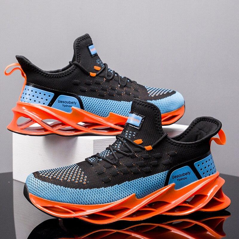 Мужские сетчатые дышащие кроссовки для бега, кроссовки для спортзала, уличные удобные кроссовки для фитнеса, спортивные легкие кроссовки д...