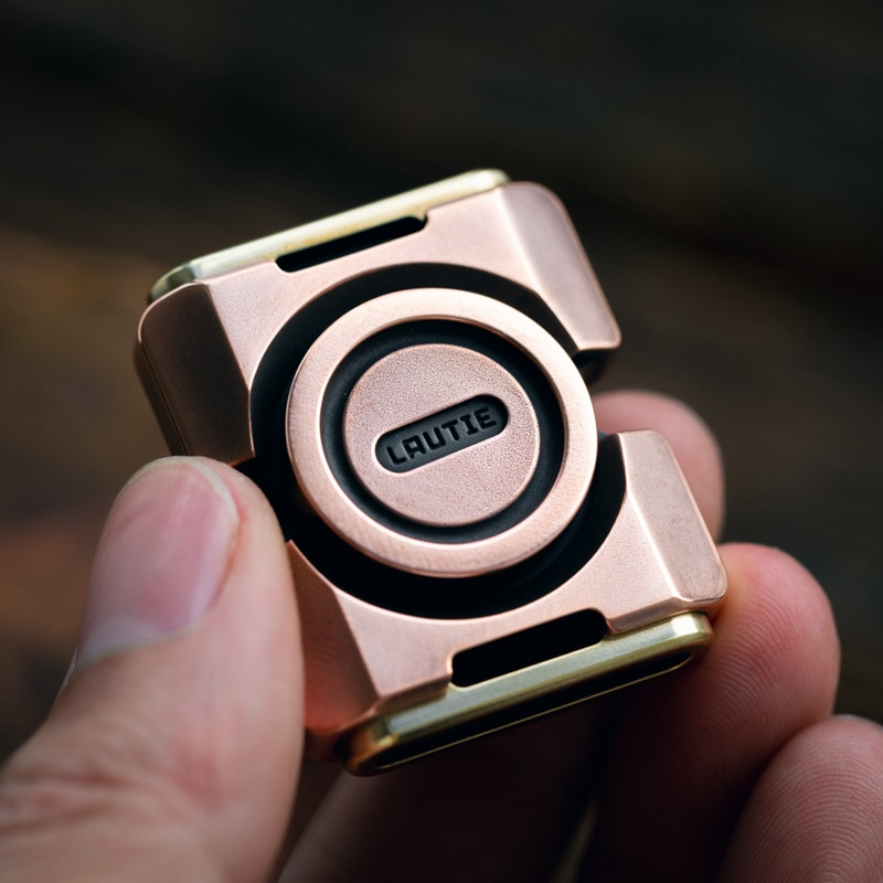 LAUTIE BIT02 Fingertip Gyro High Speed Mute Mechanical EDC Toy