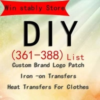 361 388 personality tide brand colorful laser brand logo patch clothing heat transfer printing diy t shirt jacket decorative