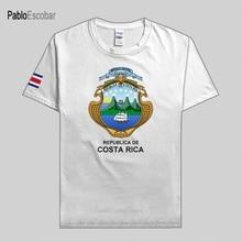 Costa Rica men t shirt jerseys nation team tshirt 100% cotton t-shirt country clothing sporting CRI Costa Rican Tico new
