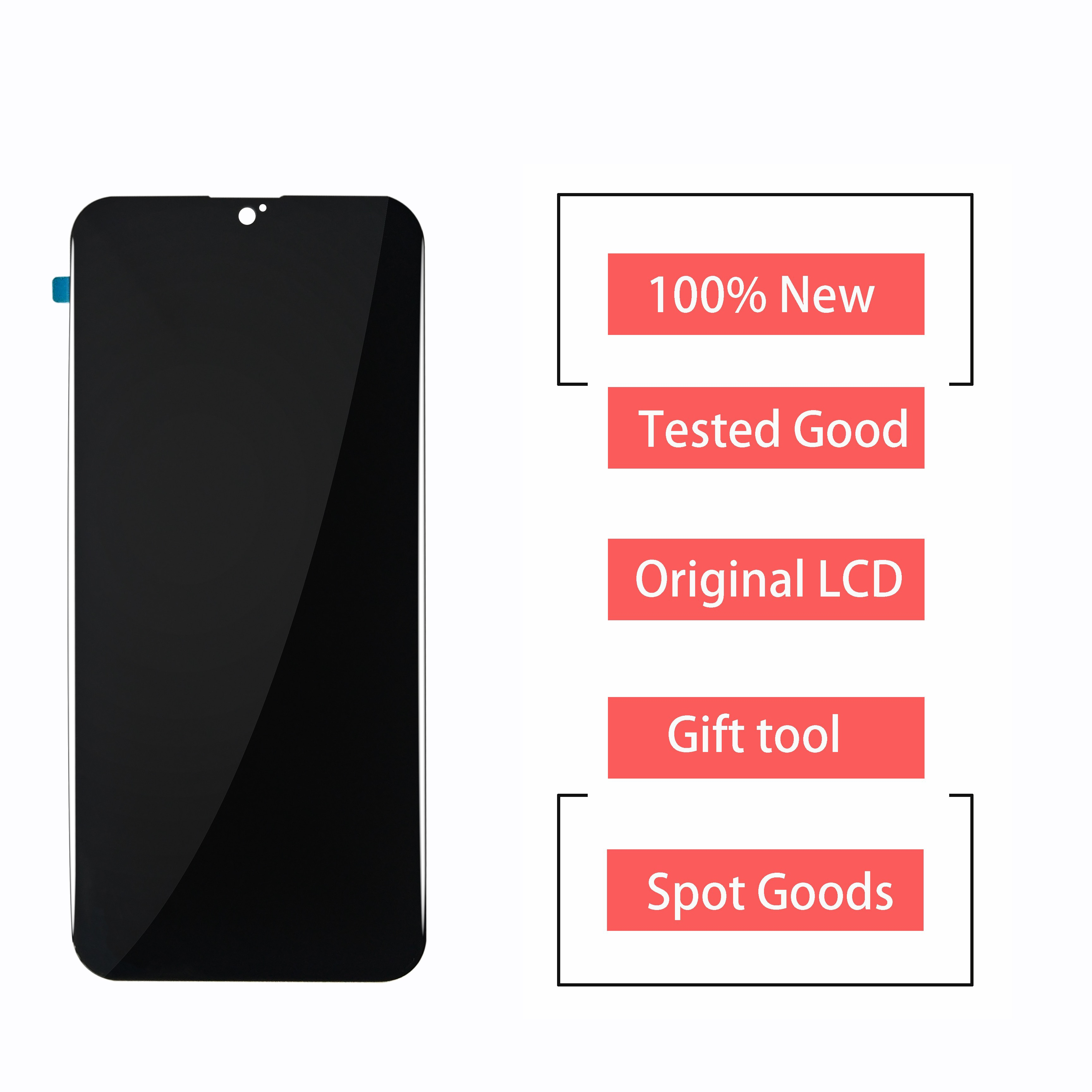 New LCD For PHILIPS XENIUM S566 / S266  LCD Display Touch Screen Digitizer Assembly 100% Perfect Rep