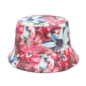 2020 four seasons cotton  flower printed Bucket Hat Fisherman Hat outdoor travel hat Sun Cap for girl and Women 131