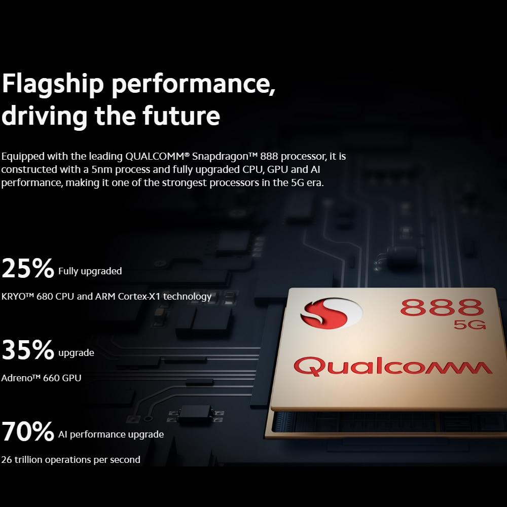 Original Xiaomi Mi 11 Global ROM 5G Smartphone Snapdragon 888 CPU 108MP Camera 55W Fast Charge 120HZ Refresh Display 4600mAh NFC enlarge