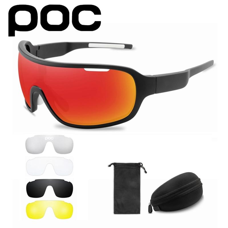5 lentes de sol POC para Ciclismo para hombre y mujer, Gafas...