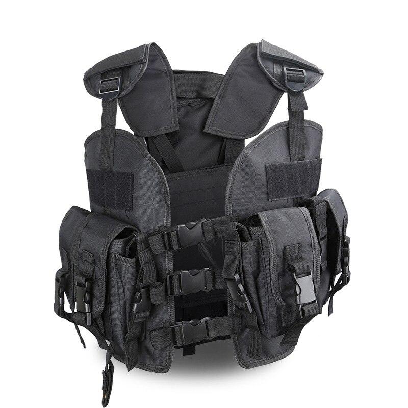 Chaleco militar táctico de la policía, ropa deportiva de juego de guerra, chaleco de Paintball Airsoft con bolsa de agua