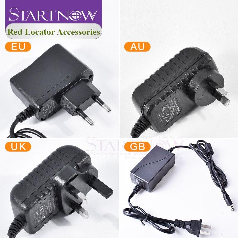 Adaptador de fuente de alimentación Localizador láser EU AU UK 24V DC divisor de cables de alimentación para módulo láser posicionamiento tira LED cámara de seguridad