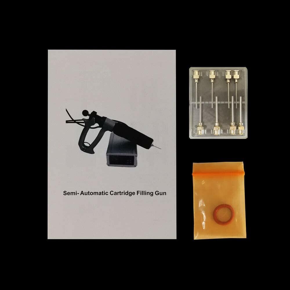 110V Handheld semi-automatic thick cartridge filling kit enlarge