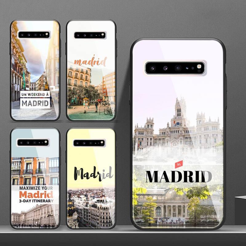 Funda trasera de cristal para teléfono móvil Samsung, carcasa trasera para Samsung...