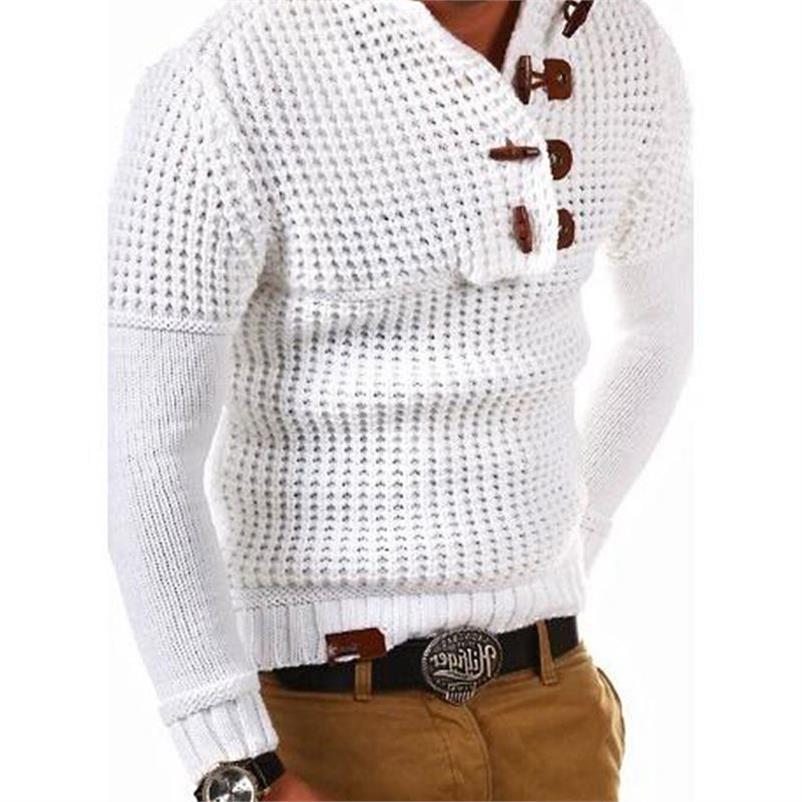 Camisolas masculinas pulôver vintage de malha camisola com capuz masculina plus size 3xl camisolas masculinas casacos streetwear horn buckle designer a381