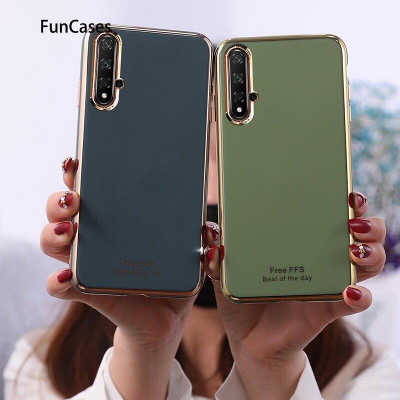 Fundas traseras coloridas para capinha Huawei Honor 20, funda de TPU suave para Huawei Honor 20 S Nova 5T, funda protectora para móvil