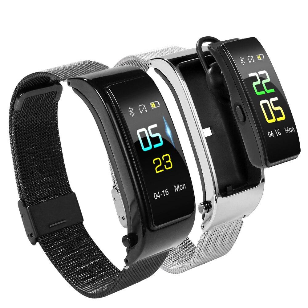 Y5 Smart-Sport-Armband Bluetooth Headset Zwei-in-one Step Herz Rate Blutdruck Anruf Erinnerung Push VS b31 Y3 Smart Armband