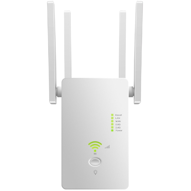 Extensor de rango WiFi repetidor Router AC1200M WiFi Booster, punto de acceso,...