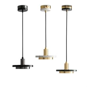 Nordic light luxury marble small chandelier post modern minimalist designer model bedroom bedside dining room bar table lamp