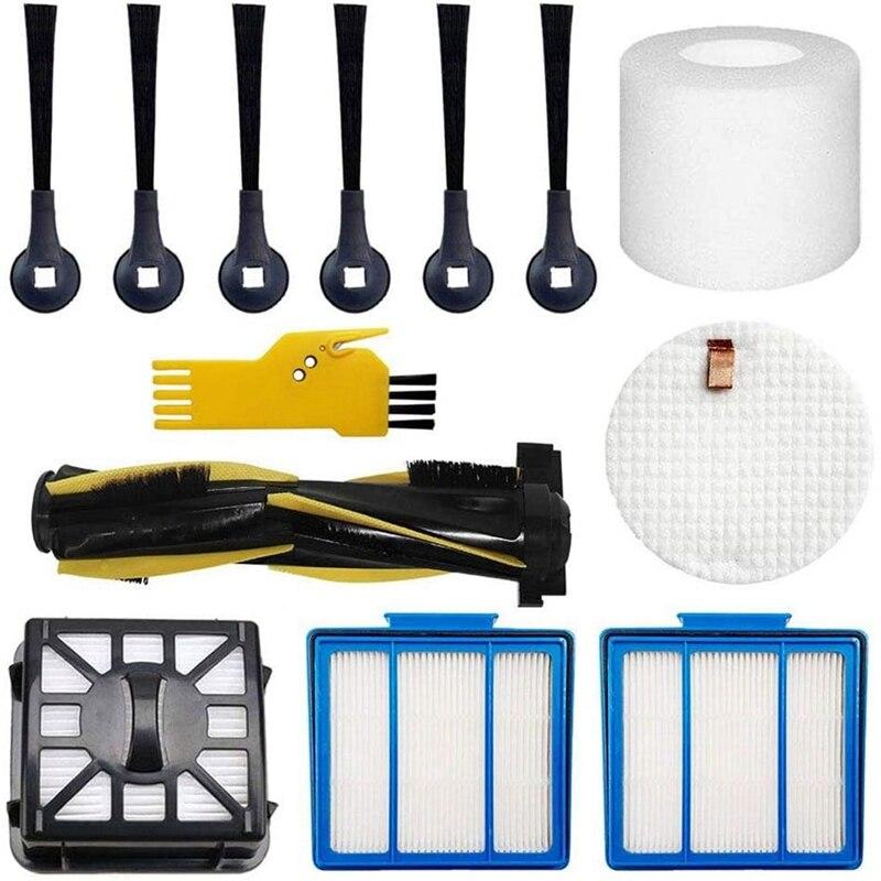 Accessories Kit for Shark IQ R101AE (RV1001AE) IQ R101 (RV1001) Robot Vacuum Cleaner Main Brush, Filters, Side Brushes