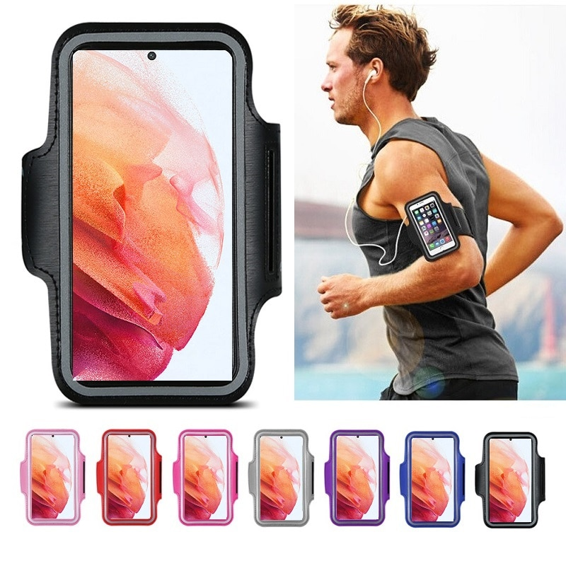 Sports Holder for Phone Case for Running Bracelet Bag Case On Hand for Samsung Galaxy S21 S20 FE Ult