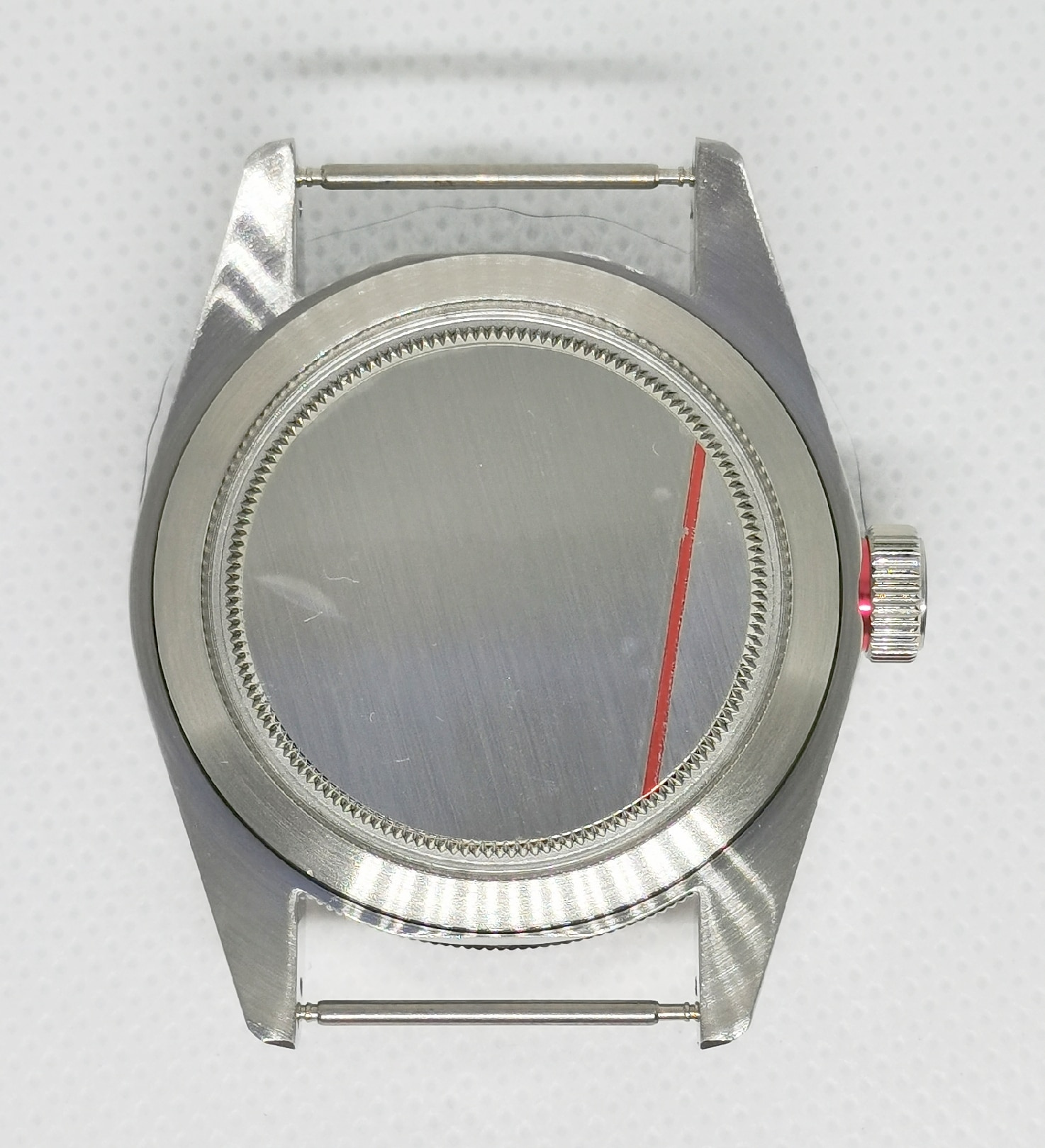 40MM 316 Stainless Steel Man's Watch Case Green Night Light Dial And Hands For Automatic Movement NH35 NH36 Miyota 8215 ETA 2836 enlarge