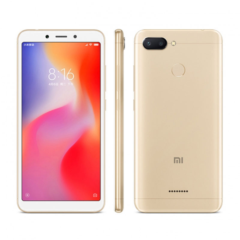 Xiaomi Redmi 6 celular 4GB 64GB googleplay smartphone in stock big promotion