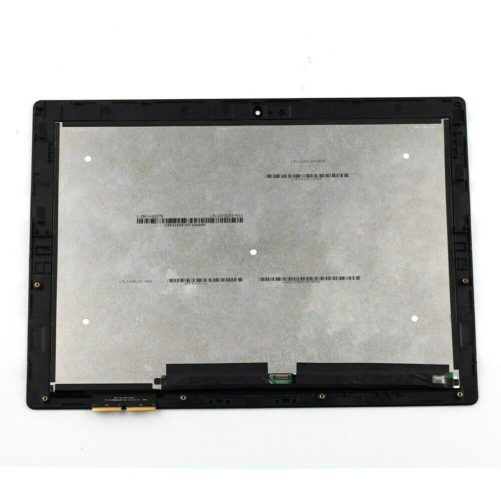 "Fru 5D10K37833 para Lenovo mimix 700-12ISK 80QL pantalla LCD LED para 12 ""Pantalla táctil montaje 80QL0001US con marco bisel"