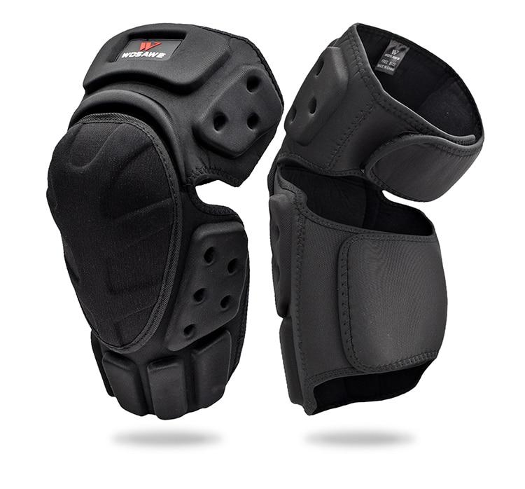 WOSAWE Motorcycle Knee Pads Motocross Knee Protection Protective pants Guard Gear Motorbike Knee Protector MTB Knee pants set enlarge